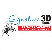 Signature 3D Signs